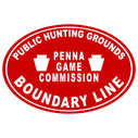 PA Pennsylvania Game Lands Boundary - t-shirts and other apparel